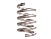 Steel spring stock image