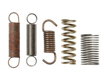 Steel spring collection Stock Images