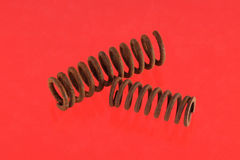 Steel spring Royalty Free Stock Image