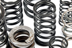 Steel springs Stock Photo
