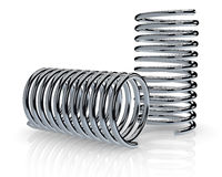 Steel springs Royalty Free Stock Photos