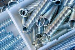Steel springs Royalty Free Stock Photos