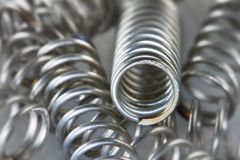 Steel Springs Royalty Free Stock Photo
