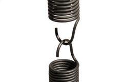 Steel springs Royalty Free Stock Images