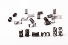 Steel springs Royalty Free Stock Images