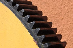 Steel sprocket Royalty Free Stock Photos
