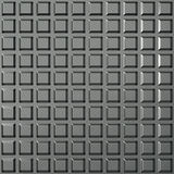 Steel square pattern Royalty Free Stock Images