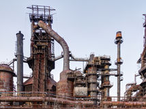 Steel Stacks Royalty Free Stock Photography