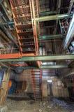 Steel Stair Royalty Free Stock Image