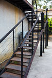 Steel staircases Stock Photos