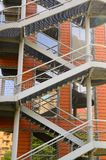 Steel Staircases, Windows and Walls Royalty Free Stock Photography