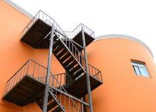 Steel Stairways Stock Image