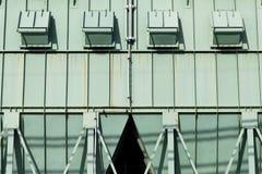 Steel storage silo Stock Image