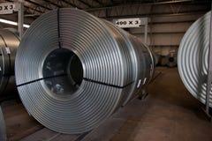 Steel store Stock Image