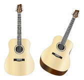 Steel Strings Acoustic Guitars Illustration Royalty Free Stock Photo