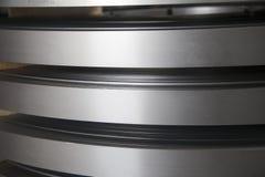 Steel strip Stock Image
