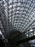 Steel structure. A modern architectural steel structure Royalty Free Stock Photos
