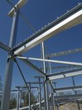 The steel structure Stock Photos