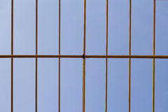 Steel Structure. On construction site Royalty Free Stock Images