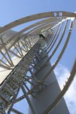 Steel Structure. Close up of steel tower in Glasgow Royalty Free Stock Photos