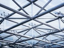 Steel structure Architecture detail Abstract Background. Steel structure building construction Architecture detail Abstract Background Royalty Free Stock Images