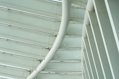 Steel Structure of Arena Stock Photo