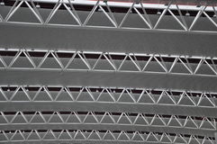 Steel structure ceiling Royalty Free Stock Image