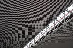 Steel structure ceiling 2 Stock Images