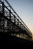 Construction of steel structure Royalty Free Stock Image