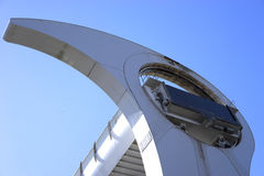 Steel structure of the Falkirk Wheel Royalty Free Stock Photo