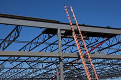 Steel Structure and Ladder Stock Image
