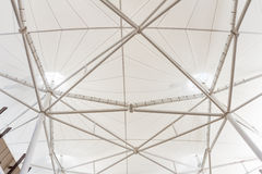 Steel structure of modern building roof Royalty Free Stock Image