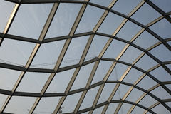 Steel structure  roof Stock Photos