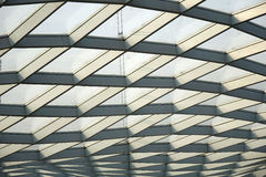 Steel structure  roof Stock Photography