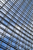Steel structure  roof. Under blue sky Royalty Free Stock Photography