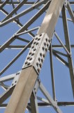 Steel structure truss Stock Photo
