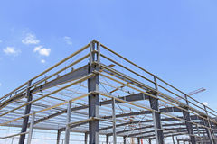 The steel structure Royalty Free Stock Image