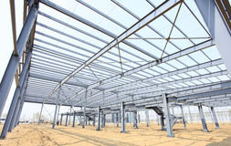 The steel structure Stock Images
