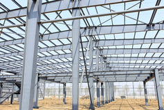 The steel structure Royalty Free Stock Photos
