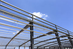 The steel structure Stock Image