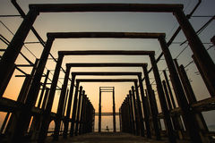 Steel Structures Royalty Free Stock Photography