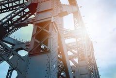 Steel strukturerar Arkivbild