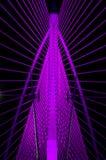 Lilor stålsätter strukturerar Royaltyfri Bild