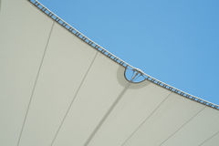 Steel Supports of Awning Royalty Free Stock Image
