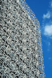Steel Supports of Commercial Architecture Royalty Free Stock Photography