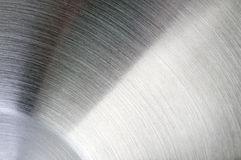 Steel surface close-up Royalty Free Stock Images