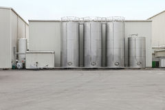 Steel tank Stock Photography