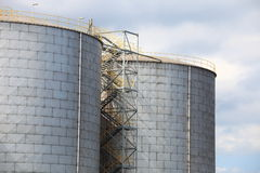 Steel Tanks Stock Photography