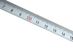 Steel tape measure Stock Images
