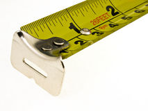 Steel tape measure Royalty Free Stock Images